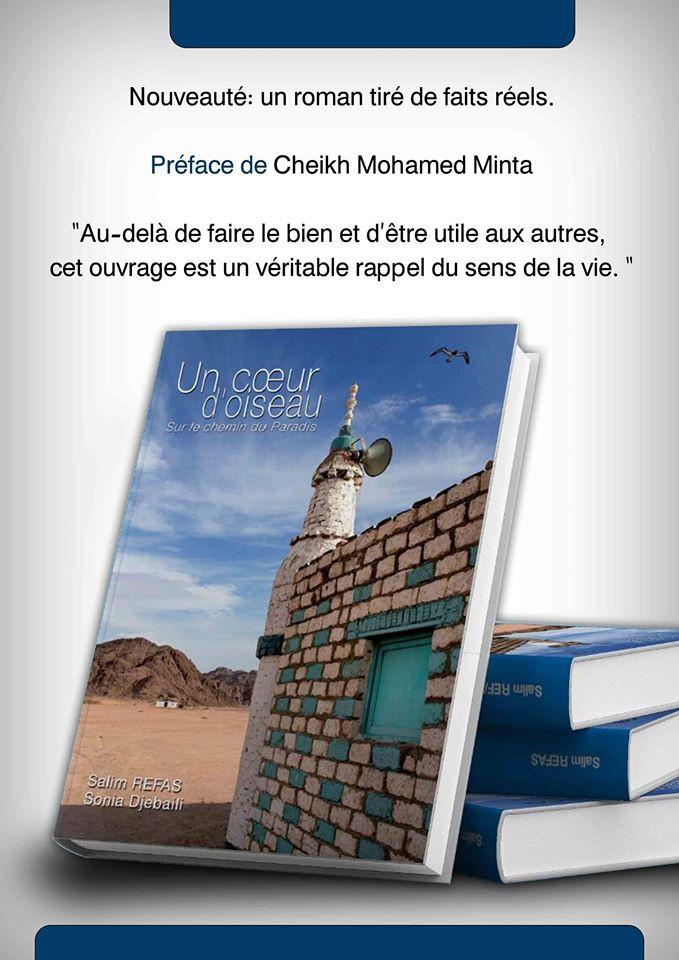 """Livre """"Un Coeur d'oiseau : Sur le chemin du paradis"""""""