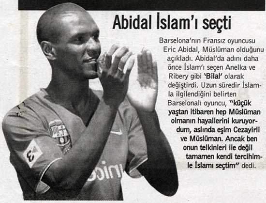 Eric Abidal converti a l'Islam