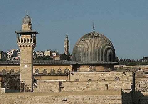 Mosquee Al Aqsa en Palestine