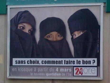 voile integral burqa 24ore