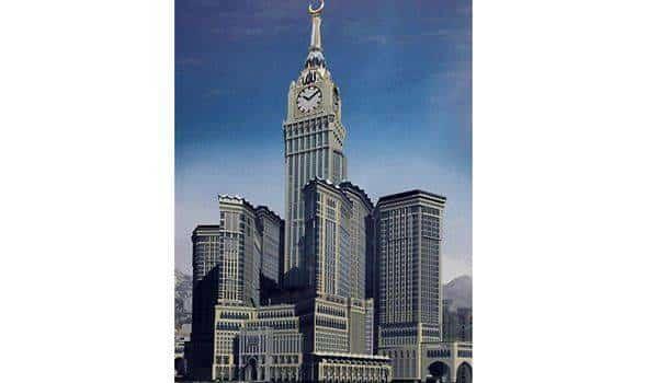 L 39 horloge de la mecque six fois plus grande que big ben - Hotel pres de la mecque ...
