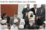 Grande-Bretagne : visite de L'Imam de La Mecque Cheikh Al Sudais