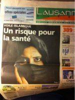 Suisse : le voile islamique serait un risque pour la santé