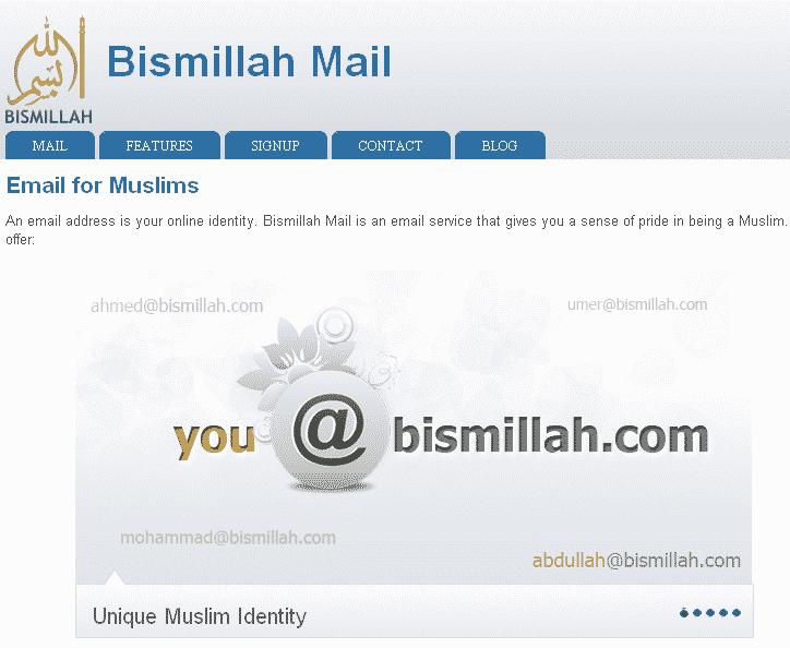 bismillah mail musulman