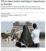 Islam, musulmans, terrorisme : un journal britanique fait l'amalgame