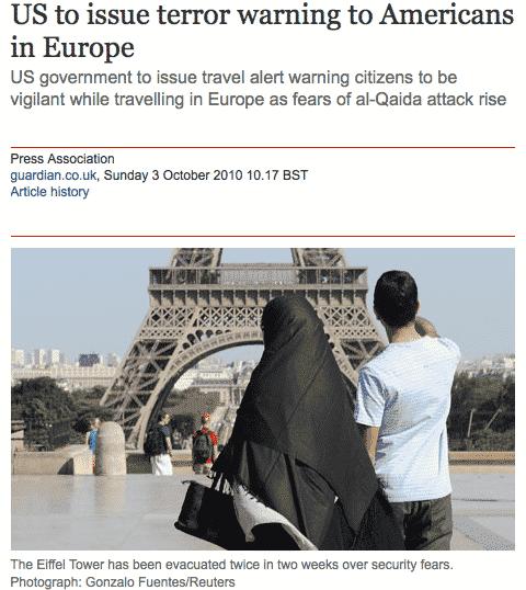 terrorisme Islam musulman