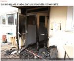 Alsace : une mosquée incendiée à Haguenau