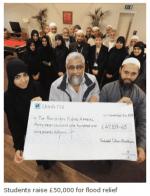Pakistan : les étudiants de l'école musulmane de Blackburn se mobilisent