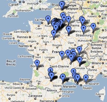 La carte de l'islamophobie en France