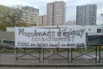 Epinay-Sur-Seine : la mosquée ferme, les musulmans prient dehors