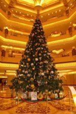 Le sapin de noël le plus cher au monde est à Abou Dhabi