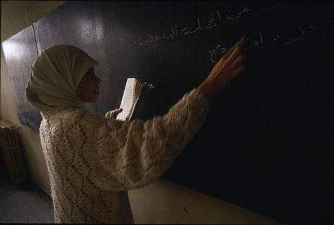 hijab enseignante