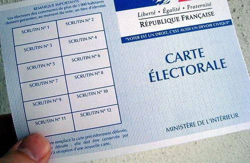 carte electorale ump