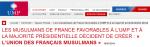 L'UMP fait dans le communautarisme : Union des Français Musulmans