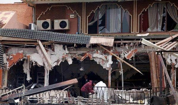 Explosion à Marrakech