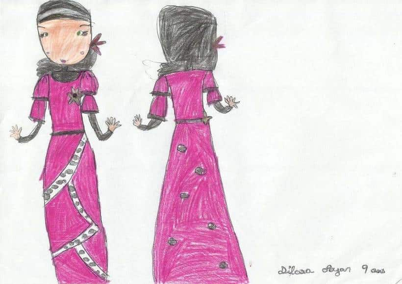 Dilara Hijab Abaya