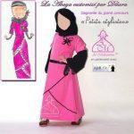 Résultats du concours Al Moutazimoun : une abaya customisée