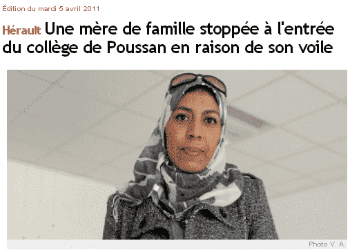 Hijab voile islamique