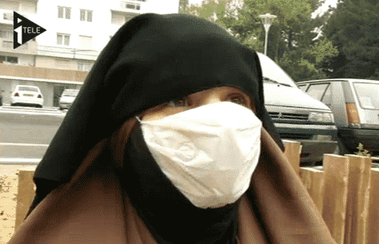 niqab masque anti-pollution