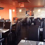 Intérieur du restaurant halal l'Alambra