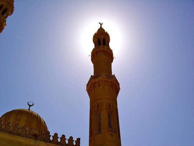 Minaret d'une mosquée