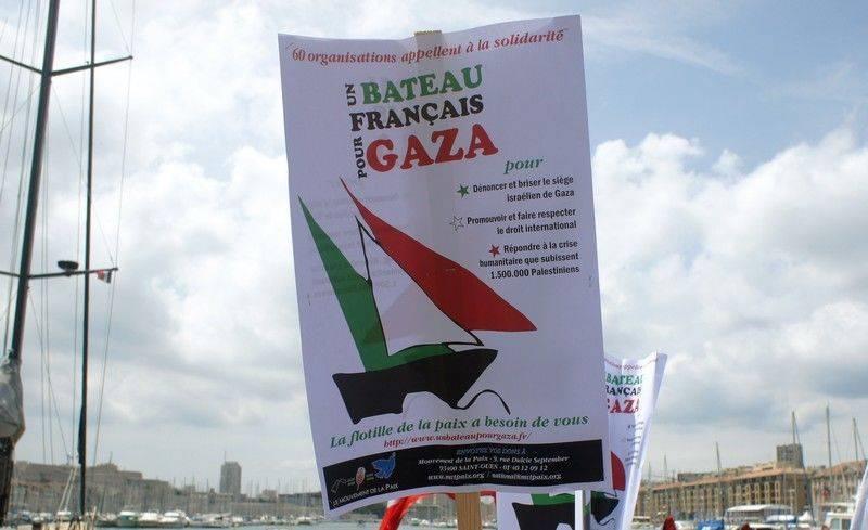 Un bateau français pour Gaza