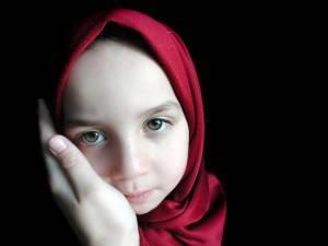 Petite fille musulmane