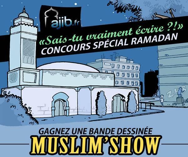 Carré concours Muslim Show