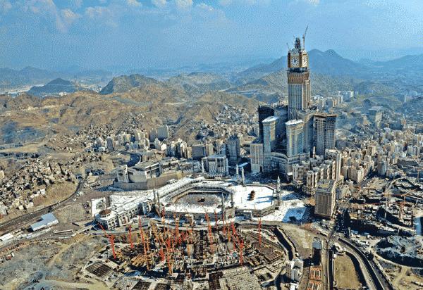 travaux d'amélioration de la grande mosquée