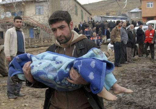 Evenements Marquants l'an 2011 en Image... - Page 2 Turquie-seisme