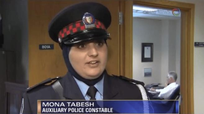 police-canada-hijab