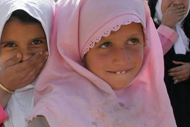 Petites fille d'Iran