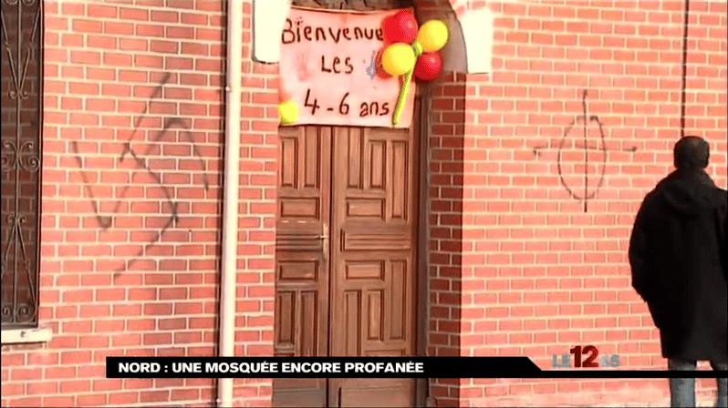 Profanation de la mosquée d'Escaudain