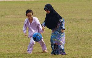 football en hijab