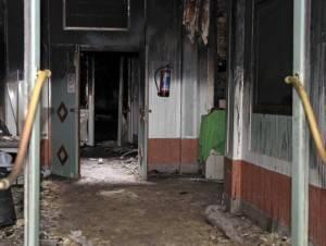 Mosquée de Bruxelles incendiée