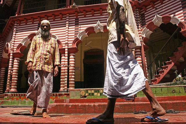 Mosquée rouge Sri-Lanka