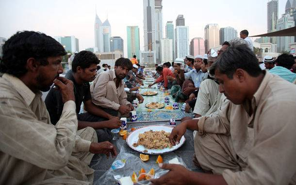 Ramadan : 1,7 million de menus iftar offerts