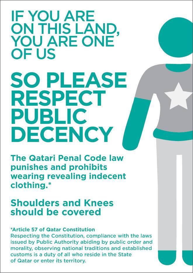Qatar : code vestimentaire