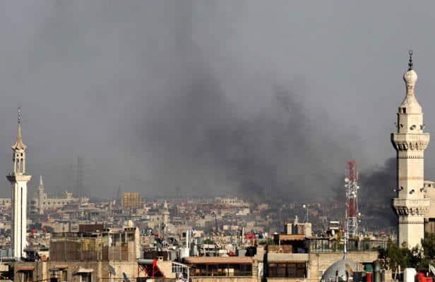 Damas sous les bombes