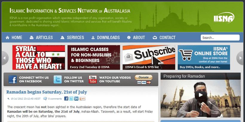 Ramadan Australie