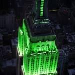 Fin du ramadan 2012 : l'Empire State Building aux couleurs de l'Aïd el Fitr