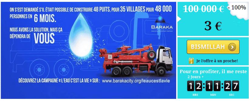 L'eau c'est la vie de Baraka City
