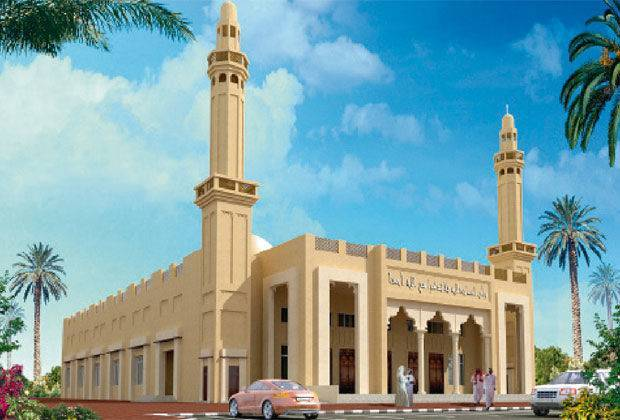 Mosque Eco Friendly Dubai
