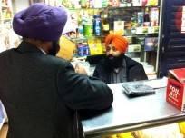 Sikh portant un turban
