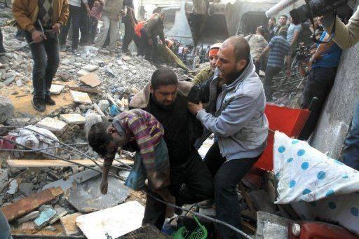 bombardement israélien à Gaza