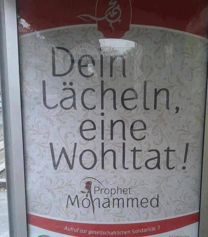 Autriche : campagne d'affiche dans les stations avec un hadith du Prophète