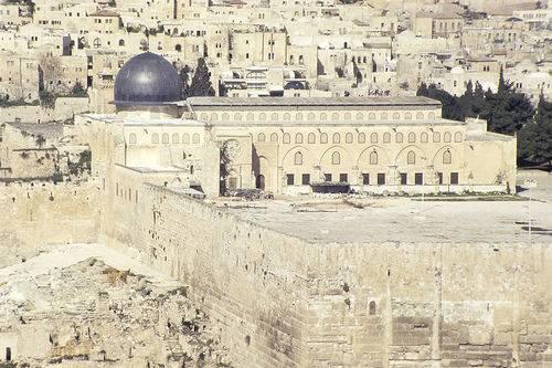 Jérusalem : lancement d'un projet de construction d'une grande synagogue à 200 mètres d'Al Quds