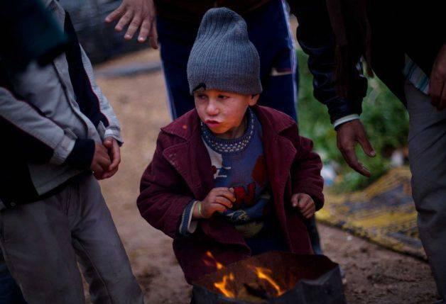 garçon SDF Syrie