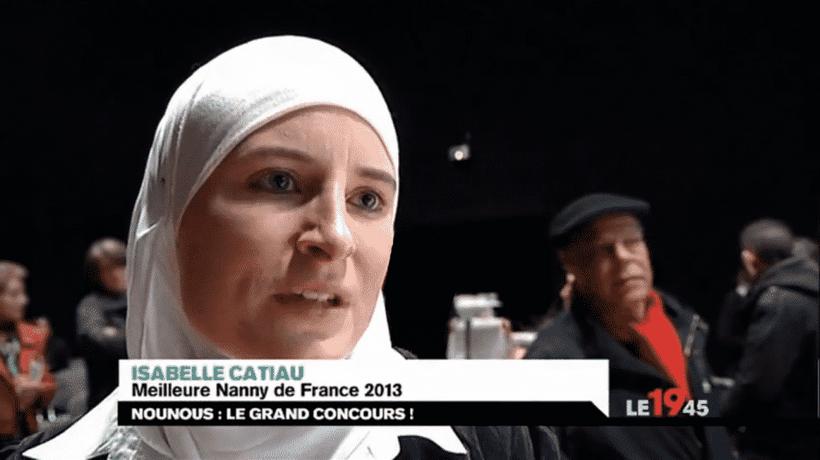 Isabelle, convertie à l'islam et élue meilleure nounou de France