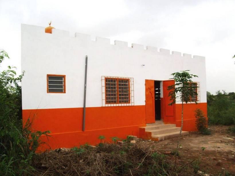 Projet 99 : les villageois d'Amendeta (Togo) peuvent enfin célébrer Jumu'a